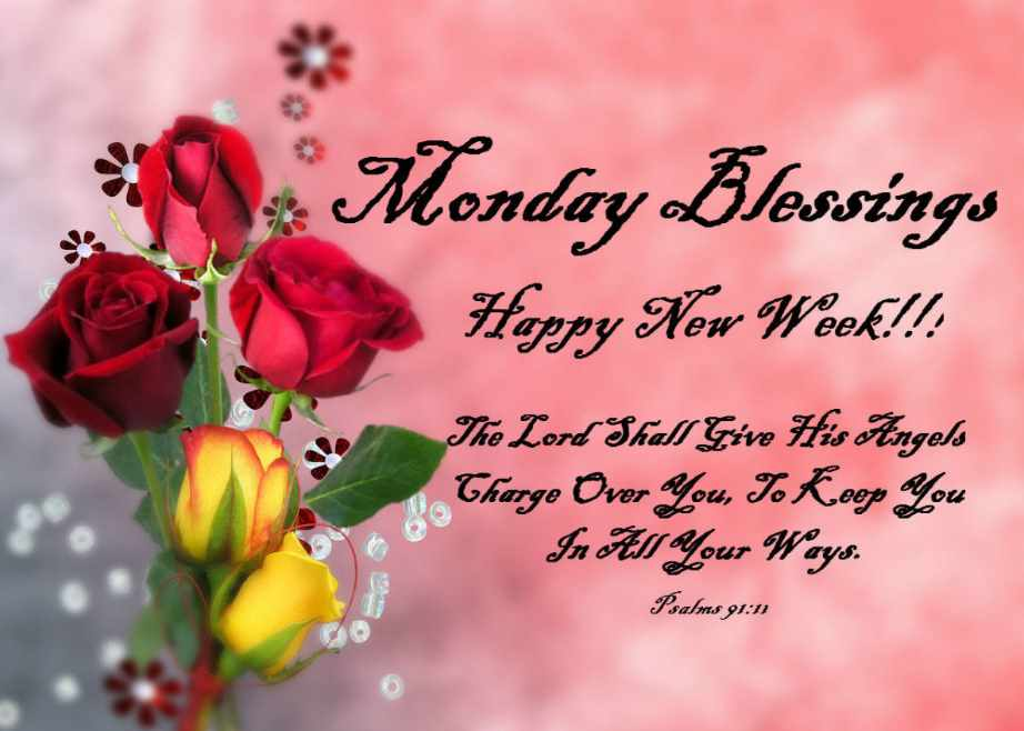happy new week sms